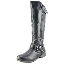 Material Girl Womens Larisa Almond Toe Knee High Fashion Boots