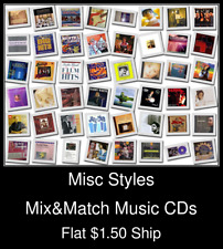 Misc Styles(9) - Mix&Match Music CDs U Pick *NO CASE DISC ONLY*
