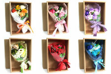 Luxury Boxed Soap Flower Bouquet Valentines Mothers Day weddings birthday gift