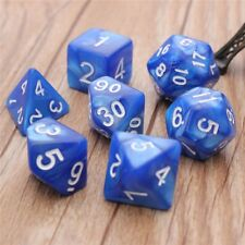 7 Dices Set Dungeons & Dragons Multi-sided D4-D20 RPG Role Play TRPG Game
