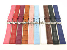 1PCS 12MM 14MM 16MM 18MM 20MM 22MM genuine leather split leather  Watch band ...