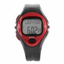 Pulse Heart Rate Monitor Calories Counter Fitness Watch Time Stop Watch Alarm LT