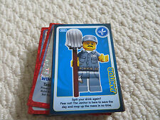 All Individual Sainsbury's Lego Create The World Trading Cards