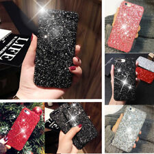 Luxury Sparkly Diamond Glitter Bling Hard Case Cover For iPhone 6 6s 7 8 Plus X