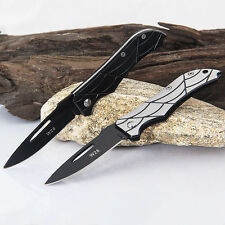 Stainless Steel Folding Knife Outdoor Fishing Hunting Camping knife Tool NI