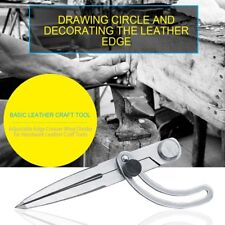 DIY Leather Craft Making Rotating Tool Adjustable Wing Divider Edge Creaser&X
