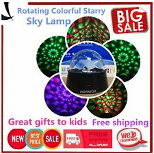Romantic Sky Cosmos Star USB Night Projector Light Luminous Lamp Kids Gift&X