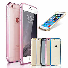 Luxury Hard Aluminum Metal Bumper Case Cover For Apple iPhone 6 / 6s
