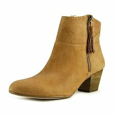 Nine West Womens Hannigan Leather Almond Toe Ankle Fashion Boots