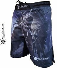 MMA Grappling Shorts UFC Mix Cage Fight Kick Boxing Fighter Short - M-L-XL-XXL