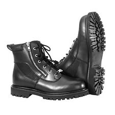 RIVER ROAD SIDE-ZIP HIGHWAY MENS  MOTORCYCLE BOOTS - PICK SIZE