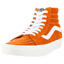 Vans Sk8 Hi Reissue Retro Sport Unisex Trainers Ginger New Shoes