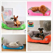Soft Large Pet Bed Cushion Dog Cat Mat Pad Cage Kennel Crate Warm Cozy House