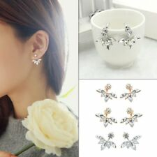 Lady Fashion Crystal Exquisite Diamond Earrings Charm Ear Studs Jewelry Gift