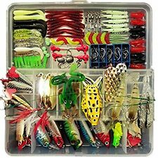 Fishing Lure Set Artificial Bait Lure Plastic Fishing Lures Minnow Popper