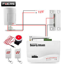 GSM Alarm System For Home Security System with Wired PIR/Door Sensor Dual