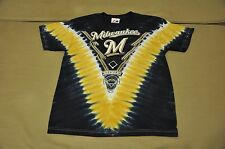 NWOT Milwaukee Brewers Boys Tie Dye T-Shirt Shirt Jersey Hat Polo MLB