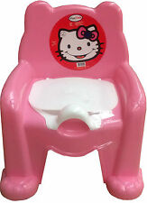 New Baby Children's Toilet Training Potty Chair Seat Pot & Lid Potty Seat
