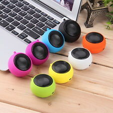 Mini Portable Hamburger Speaker Amplifier For iPod iPad Laptop iPhone Tablet M2