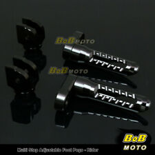 FOR Yamaha YZF 1000 R thunderace 1996-2000 Multi Step Adjustable Front Foot Pegs