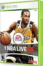 Brand New ~ NBA Basketball Live 08 2008 + FIBA XBOX 360*NEW FACTORY SEALED