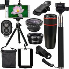 All in1 Accessories Phone Camera Lens Travel Kit Fr Mobile Smart CellPhone YT