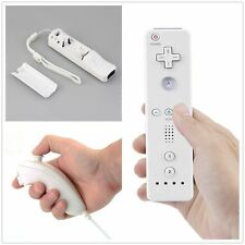 White Remote Wiimote Nunchuck Controller Set Combo for Nintendo Wii Game YT