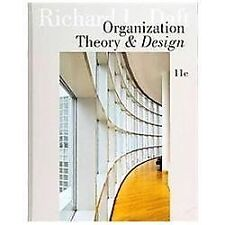 Organization theory and design books ebay organization theory and design by daft richard l fandeluxe Images