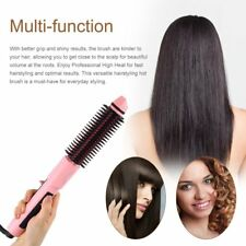 Steam Magic Styler Hair Brush with Straightener Curling Steaming Functions 2Y