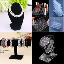 4type Mannequin Necklace Jewelry Pendant Display Stand Holder Show Decorate YX