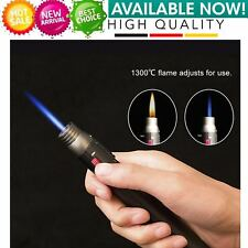 Camping Lighter 1300 degree Torch Jet Flame Pencil Butane Gas Refillable HPD