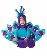 Chasing Fireflies Little Peacock Baby Halloween Costume 6-12 Months RETIRED NEW