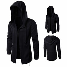 Stylish Creed Men Hoodie Assassins Cagoule Jacket Costume Casual Black Coat