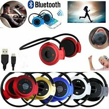 Handsfree Earphone Wireless Bluetooth Headset Stereo Sports Headphone USA Seller