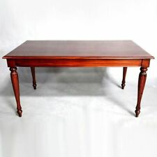 Solid Mahogany Wood Regency Rectangular Dining Table Antique Style/Pre-Order
