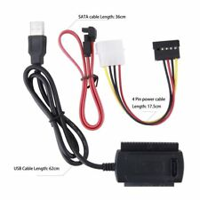 Converter Cable SATA/PATA/IDE to USB 2.0 Adapter for 2.5''/3.5'' Hard Drive C2