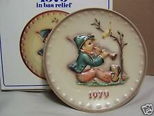 "Hummel Annual Plate 1979 "" SINGING LESSONS "" MIB"
