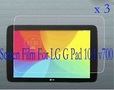 3 Glossy Matte LCD Screen Protector Guard Film Cover Skin For LG G Pad 10.1 V700