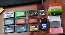 Lot of 10 Nintendo Handheld Games - GBA and DS + Game Cases