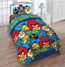 Angry Birds Comforter Twin Full Kids Bedspread Reversible Soft Game Colorful Bed