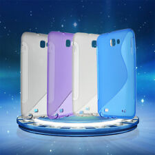 Soft TPU Gel Protective Skin Case Cover For Samsung Galaxy Note i9220 #lj