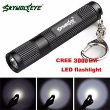 Zoomable 3000LM CREE Q5 LED Flashlight 3 Mode Torch Super Bright Light Lamp USA