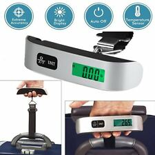 50kg/10g Portable Travel LCD Digital Hanging Luggage Scale Electronic Weight HW
