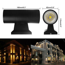 6/10/20W Exterior Wall Light Fixture Up Down Dual Head COB LED Wall-Lamp-Outdoor