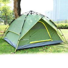 Waterproof 3-4 Person Double layer Automatic Instant Outdoor Camping Tent QA