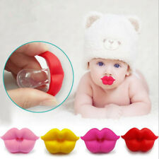 Baby Pacifier Red Kiss Lip Dummy Pacifiers Silicone Baby Nipples Teether Soother