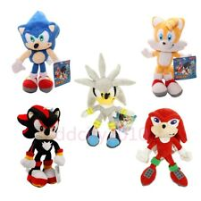 Sonic The Hedgehog Tails Knuckles Shadow Plush Toy Sonic Stuffed Doll US Shipped