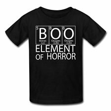 Boo Element Of Horror Halloween Kids' T-Shirt by Spreadshirt™