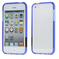 New Gift Clear Crystal Bumper Skin Frame Hard Case Cover For Apple iPhone 5 5S
