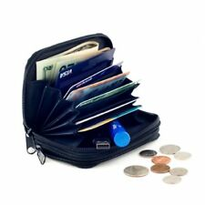 Womens Ladies Small Wallet Mini Leather Credit Cards Cash Coin Compact Holder.